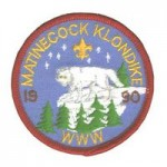 Buckskin Lodge #412 unlisted chapter event patch Matinecock eR1990
