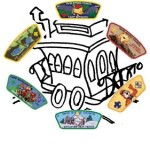 Camp Boyhaven Special Activity Patches
