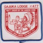 Look Back – Gajuka Lodge #477 1983 NOAC X1?