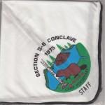 Section NE-2B 1975 Conclave – Staff Neckerchief