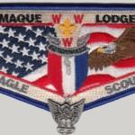 Ktemaque Lodge #15 Eagle Scout Flap S55