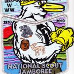 Ho-Nan-Ne-Ho-Ont Lodge #165 2010 National Jamboree Delegate Set S32 X12