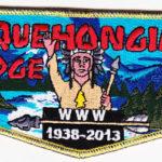 Aquehongian Lodge #112 75th Anniversary LEC Flap S42