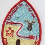 Suanhacky Lodge #49 Katrina Fundraiser Red Border X31