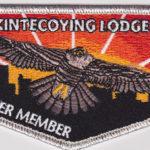 Kintecoying Lodge #4 Charter Member & First Flap S1