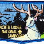 Tschipley Achtu Lodge #95 2013 National Jamboree Flap S11