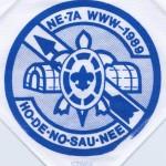 Section NE-7A 1989 Blue Staff Neckerchief