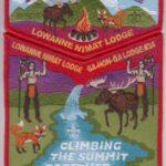 Look Back – Lowanne Nimat Lodge #219 2013 Jamboree Contingent Set S11 X4