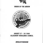 Section NE-5A 1999 Conclave Booklet