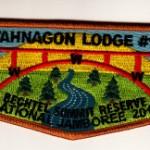 Otahnagon Lodge #172 2013 National Jamboree Flap S28