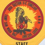 Gone Fishing – Section NE-2C 1987 Conclave Staff Neckerchief