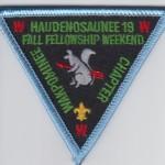 Discovery Haudenosaunee Lodge #19 Wakpominee Chapter eR2000-3? Fall Fellowship Weekend