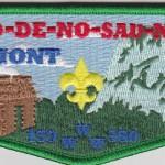 Ho De No Sau Nee Lodge #159 2014 Green Bordered Philmont Flap S53