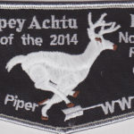 Tschipey Achtu Lodge #95 2014 Home of the Northeast Region Chief – Kyle Piper F3a TR