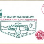 1994 Section NE-5 Conclave Cover