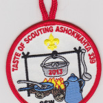 Ashokwahta Lodge #339 Taste of Scouting eR2013-2