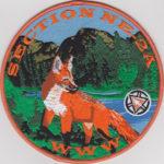 Section NE-2A 100th Anniversary OA Centennial Jacket Patch