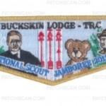 Buckskin Lodge #412 2013 GMY Border National Jamboree Set S73 X24