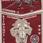 Ktemaque Lodge #15 2015 numbered Fundraiser Set S61X32