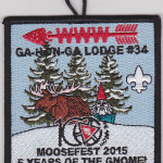 Ga-Hon-Ga Lodge #34 Winter Fellowship Moosefest 2015 eX2015