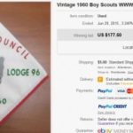 """State of the Hobby – Ty-Ohni Lodge """"96"""" Wolf Neckerchief Error N1"""