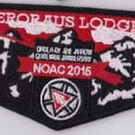 Onteroraus Lodge #402 2015 NOAC Flap S58