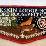 Buckskin Lodge #412 OA Centennial Flap S78