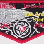 Ho-De-No-Sau-Nee Lodge #159 Section NE-3A 2015 NOAC Flap S58