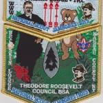 Buckskin Lodge #412 2013 GMY Border National Jamboree Set S73 X24 – Updated Scan