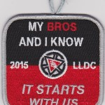 Kintecoying Lodge #4 2015 Youth LLDC Patch 4eX2015-1
