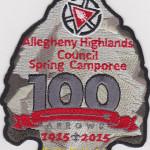 Ho-Nan-Ne-Ho-Ont Lodge #165 100th Anniversary 2015 Spring Camporee eA2015b – No Loop