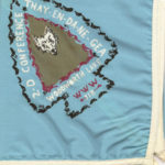 Area 2-D 1972 Conclave Neckerchief – White Piping