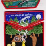 Lowanne Nimat Lodge #219 100th Anniversary/NOAC Trader Set S25 X6 X7