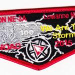 Lowanne Nimat Lodge #219 Section NE-3A 2015 NOAC Flap S27