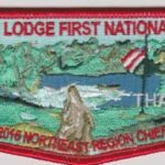 Buckskin Lodge #412 First National Officer NER Chief Chris Boyle Thank You Flap S84