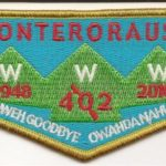 Onteroraus Lodge #402 OA Death Flap S61