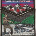 Onteroraus Lodge #402 Delaware County Death Flap Set S62 X11