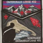 Onteroraus Lodge #402 Schoharie County Death Flap Set S62 X13