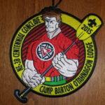 Otahnagon Lodge #172 2015 NE-3B Conclave Patch X9