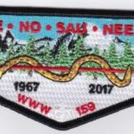 Ho-De-No-Sau-Nee Lodge #159 50th Anniversary Flap 1967-2017 S62