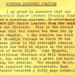 Shu Shu Gah Lodge #24 Achewen Schingue Chapter JLTC eN1962
