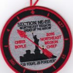 Section NE-2B 2016 Northeast Region Chief Patch