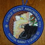 Nacha Nimat Lodge #86 Eagle Scout Arrowman Round R1