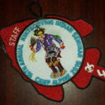Kintecoying Lodge #4 16th Annual Indian Staff Patch 4eA2016-3