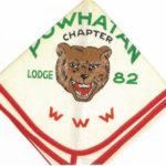 Look Back – Man-A-Hattin Lodge #82 Powhatan Chapter Neckerchief