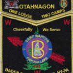 Otahnagon Lodge #172 One Lodge Two Camps – Barton GMY Set S40 X12