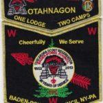 Otahnagon Lodge #172 One Lodge Two Camps – Tuscarora GMY Set S40 X13