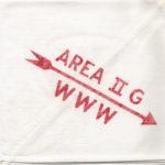 Area 2-G 1955 Conclave Neckerchief