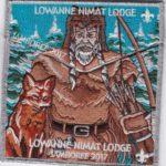 Lowanne Nimat Lodge #219 2017 Jamboree Set SMY Border  S30 X12