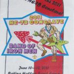 Section NE-7B 2011 Conclave Program and Backpack